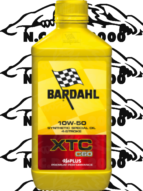 1LT Olio motore MOTO Bardhal XTC C60 10W50 NEW