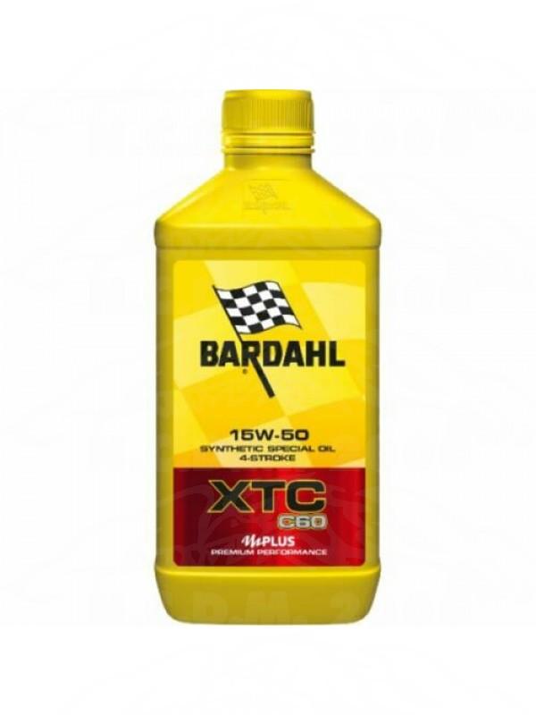 1lt olio motore sintetico 4t Bardhal XTC 60 C60 15W50