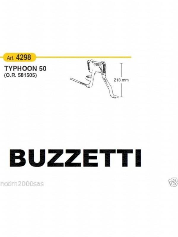 BUZZETTI CAVALLETTO CENTRALE PIAGGIO - GILERA TYPHOON 2T 50 4298