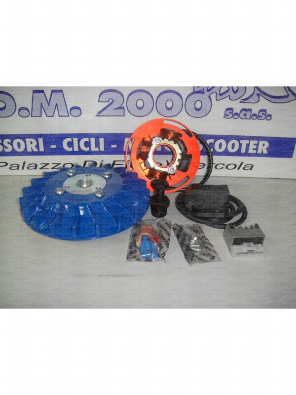 Accensione Completa di Volano Parmakit PIAGGIO VESPA PX 125 150 Kg 1.5 BLU