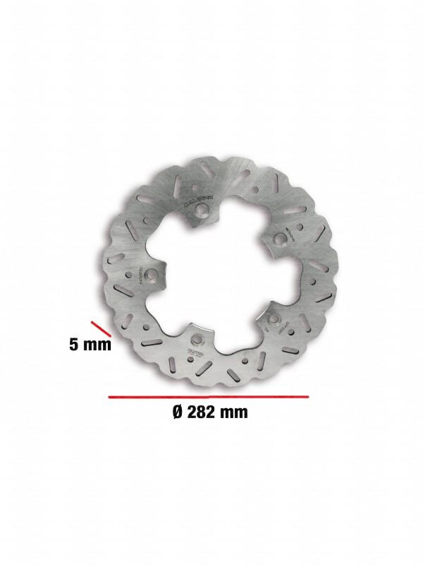Disco freno WHOOP DISC Ø esterno 282 - spessore 5 mm  Codice 6215594