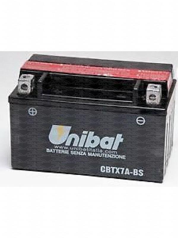 UNIBAT CBTX7A-BS=YTX7ABS 12V 6Ah BATTERIA MOTO/SCOOTER