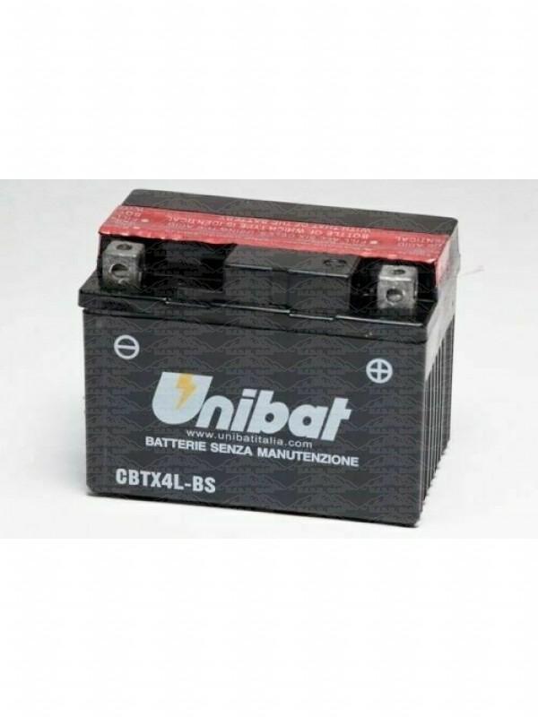 Batteria Unibat Cbtx4L-Bs=Ytx4L-Bs 12V 3Ah