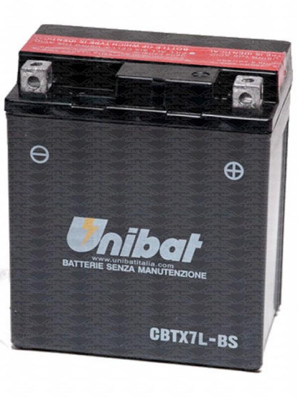 Batteria UNIBAT Cbtx7l-bs Senza Manutenzione