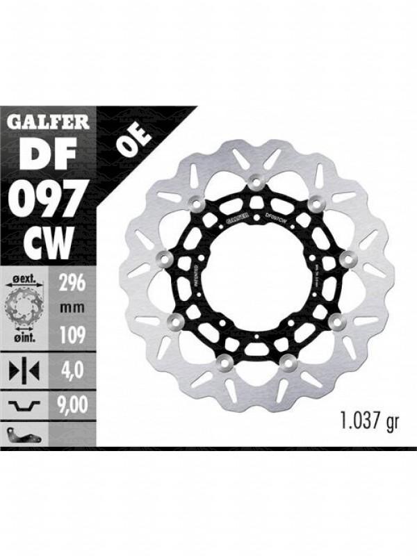 DISCO GALFER FLOTTANTE ANTERIORE HONDAX-ADV 75075017-DF097DF098