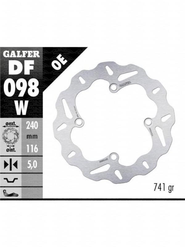 DISCO POSTERIORE GALFER HONDAX-ADV 75075017-DF098